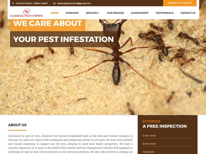 Classical Pest Control